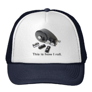 """This is how I roll."" 35mm Film Loader Hat"