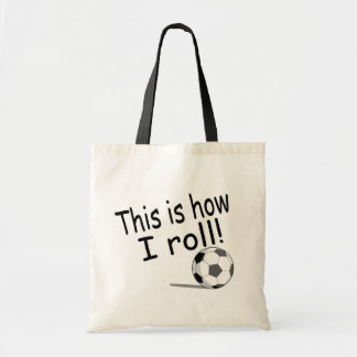 This Is How I Roll Canvas Bag