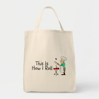 This Is How I Roll (BBQ) Tote Bag