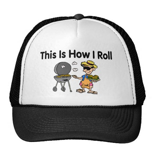 This Is How I Roll BBQ Grilling Trucker Hat