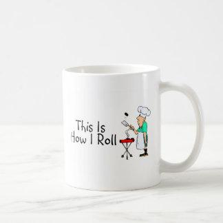 This Is How I Roll (BBQ) Classic White Coffee Mug