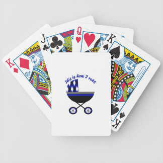 This Is How I Roll Boy Stroller Bicycle Playing Cards