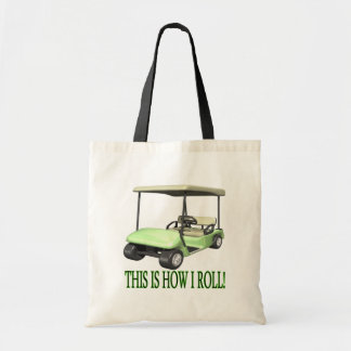 This Is How I Roll Budget Tote Bag