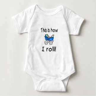 This Is How I Roll (Buggy) Baby Bodysuit