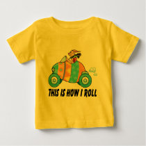 This Is How I Roll Easter Bunny Baby T-Shirt