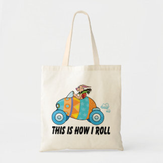 This Is How I Roll Easter Bunny Tote Bag