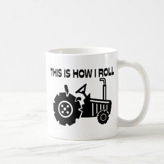 This Is How I Roll Farming Tractor Coffee Mug