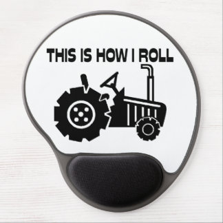 This Is How I Roll Farming Tractor Gel Mouse Pad