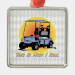 This Is How I Roll Golf Ornament