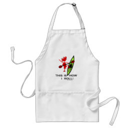 This is how I roll (Kayak) Adult Apron