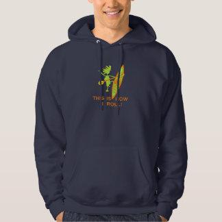 This is how I roll (Kayak) Hooded Sweatshirt
