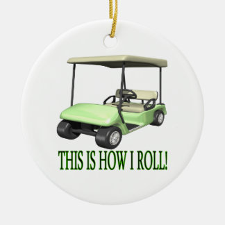 This Is How I Roll Christmas Tree Ornaments