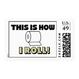This Is How I Roll! Stamps