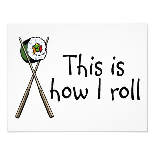 This Is How I Roll Sushi Announcement