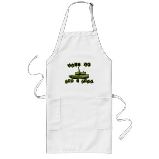 This Is How I Roll Tank Long Apron