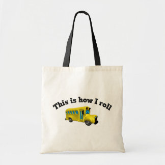 This is how I roll totebag Bags