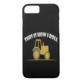 This Is How I Roll Tractor iPhone 8/7 Case