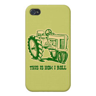 This Is How I Roll Tractor GRN iPhone 4 Cover