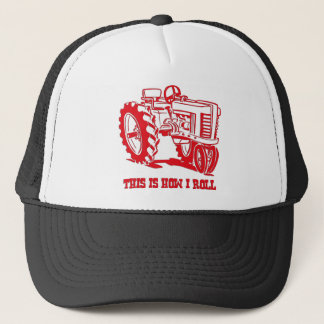This Is How I Roll Tractor RED Hat