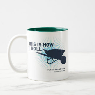 This Is How I Roll Two-Tone Coffee Mug