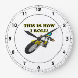 This Is How I Roll Wallclock