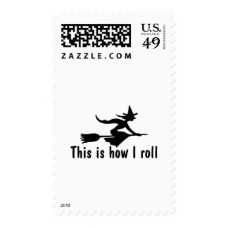 This Is How I Roll Witch Stamps