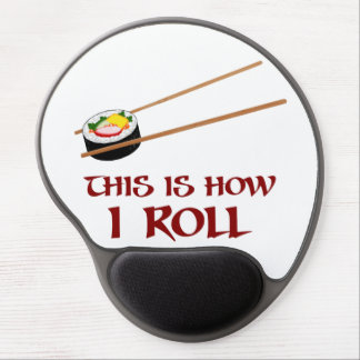 This Is How I Sushi Roll Gel Mouse Pad