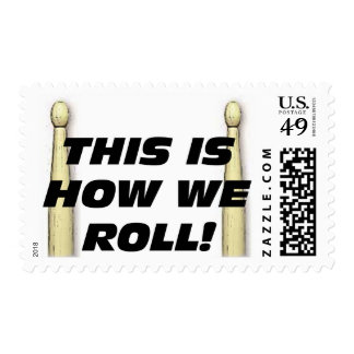 This Is How We Roll Postage