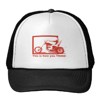 This Is How You Trike - Ride With Pride! Trucker Hat