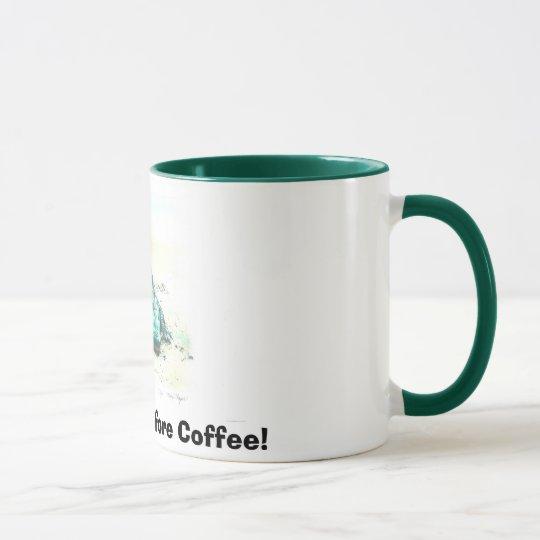 This Is Life Before Coffee! Mug