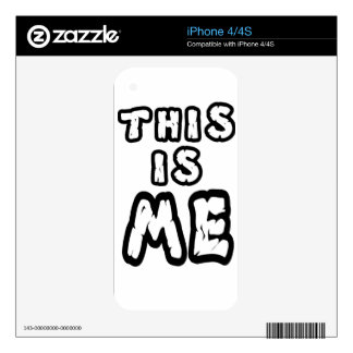 this is me decal for iPhone 4