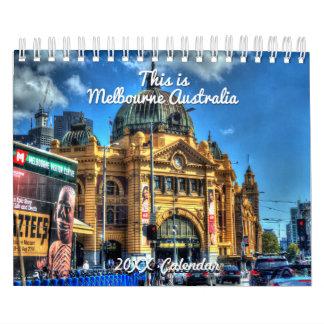 This is Melbourne Australia Calendar