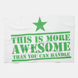 This is more awesome than you can handle! kitchen towels