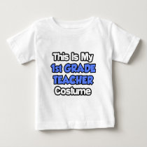 This Is My 1st Grade Teacher Costume T Shirts