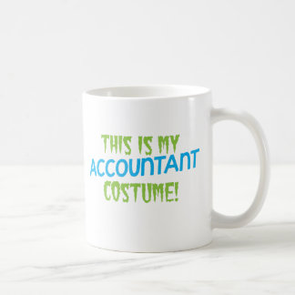 This is my Accountant costume! Halloween design Coffee Mug