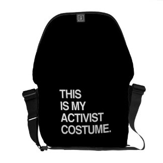THIS IS MY ACTIVIST COSTUME COURIER BAG
