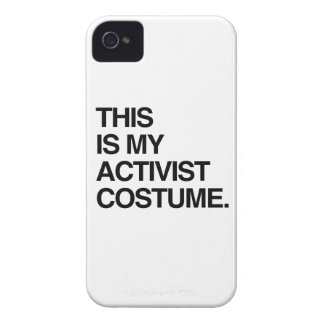 THIS IS MY ACTIVIST COSTUME.png iPhone 4 Case-Mate Case