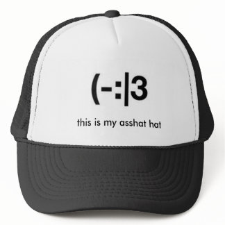 this is my asshat  hat
