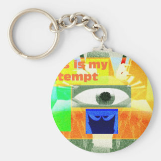 This is my attempt 2 keychain