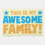 This is my AWESOME FAMILY! Hand Towels