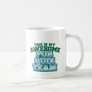 This is my AWESOME Pub Quiz Team Coffee Mug