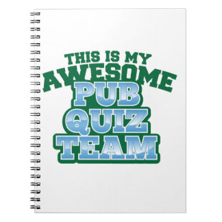 This is my AWESOME Pub Quiz Team Notebook