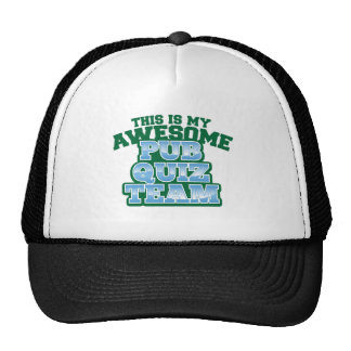 This is my AWESOME Pub Quiz Team Trucker Hat