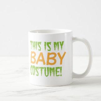 This is my BABY Costume Halloween design Coffee Mugs