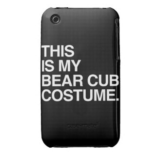 THIS IS MY BEAR CUB COSTUME Case-Mate iPhone 3 CASE