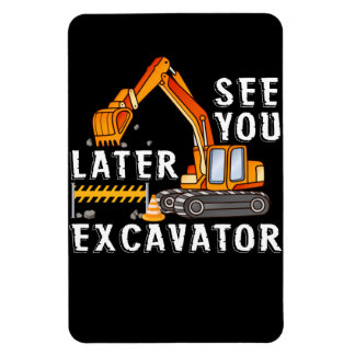 This Is My Blippis See You Later Excavator Magnet