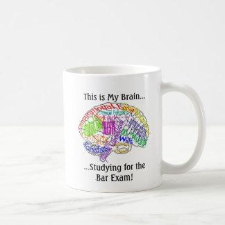 This is my brain...Bar Exam Classic White Coffee Mug