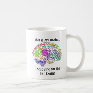 This is my brain...Bar Exam Coffee Mug