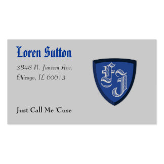 This Is My Card Business Card