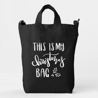 THIS IS MY CHRISTMAS BAG